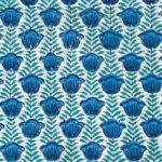 Tulipier Bleu Fd Blanc